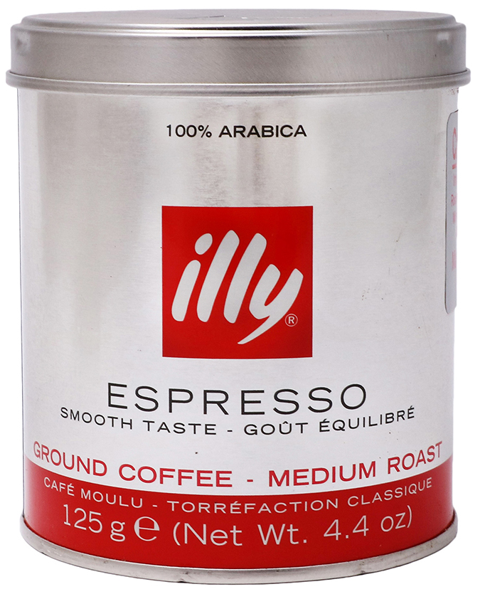 Кофе молотый ILLY caffe espresso 125 г