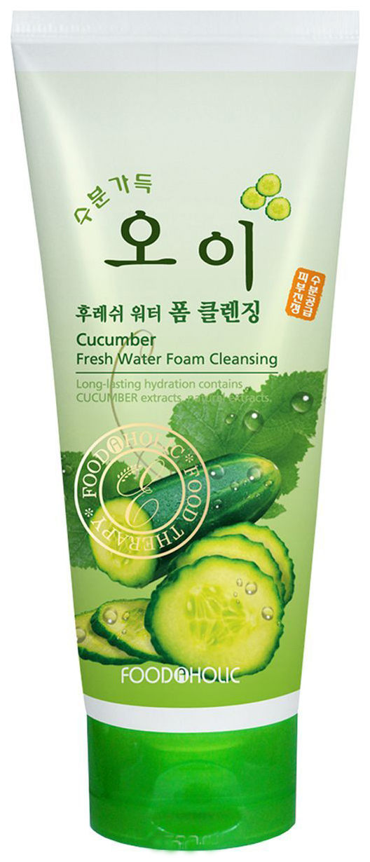 Пенка для умывания FoodaHolic Cucumber Fresh Water