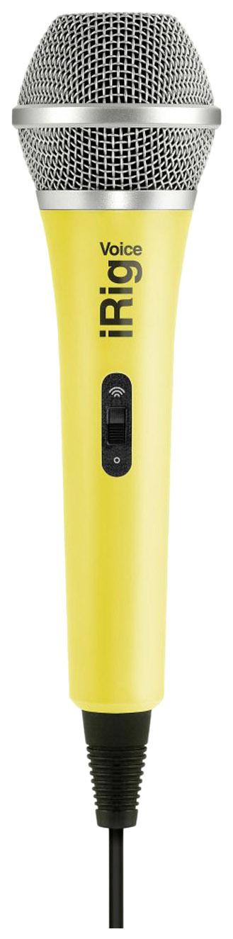 Вокальный микрофон IK Multimedia iRig Voice Yellow