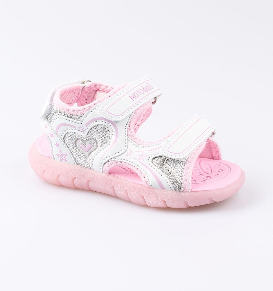 Купить Сандалии Котофей 324015-12 для девочек р.25, Детские сандалии
