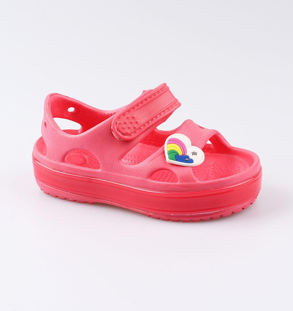 Купить Пляжная обувь Котофей 325089-01 для девочек р.27, Шлепанцы и сланцы детские