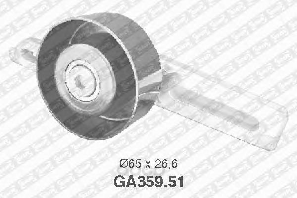 Ролик автомобильный NTN SNR GA35951