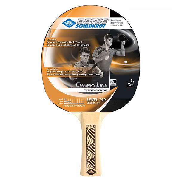 Ракетка для настольного тенниса Donic 705116 Champs 150, черная фото