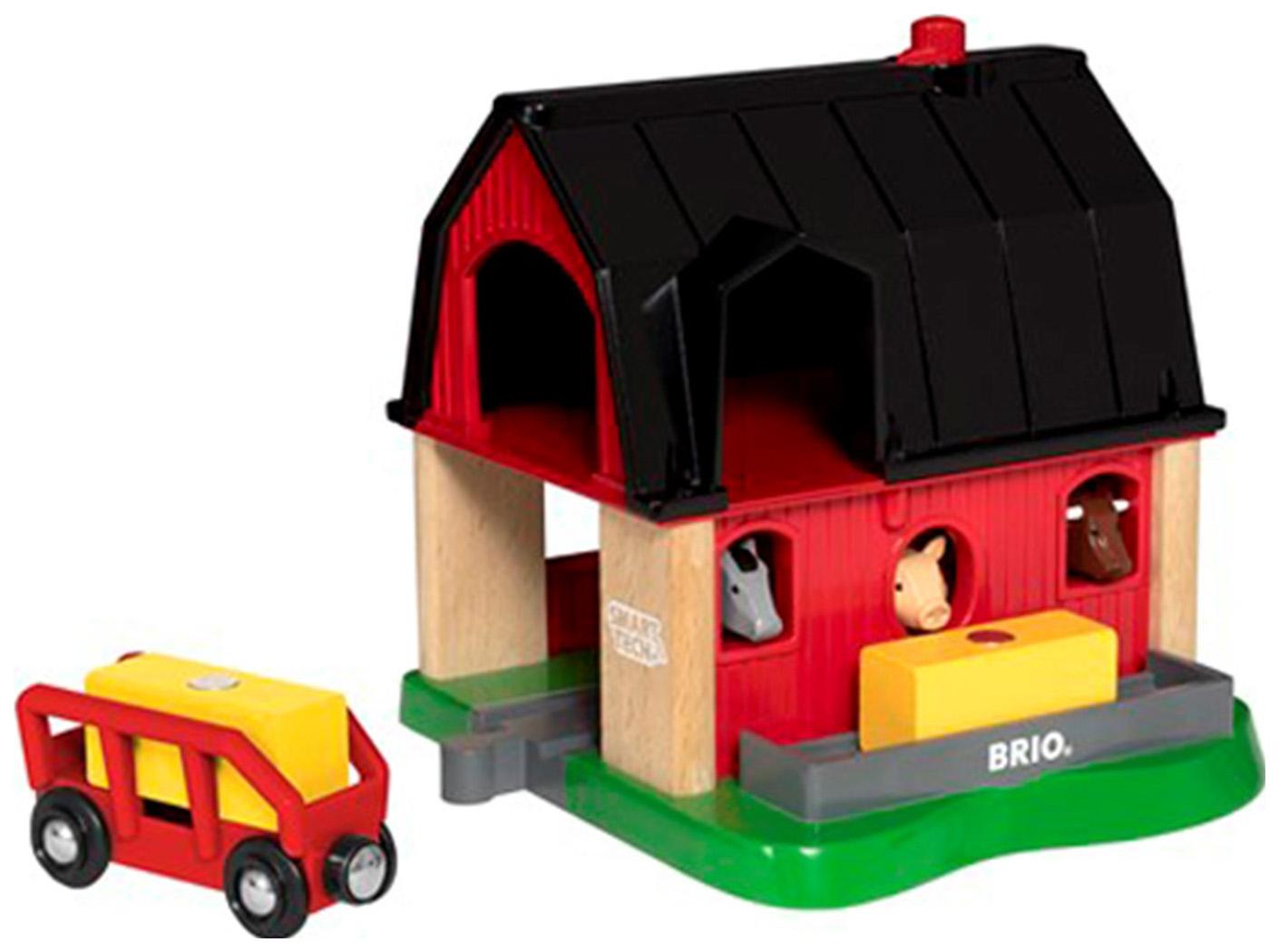 Купить Ферма BRIO Smart Tech для деревянной железной дороги, Детские железные дороги