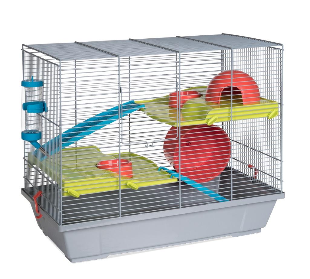 Клетка для крыс, морских свинок, мышей, хомяков Voltrega 47х28х50.5см