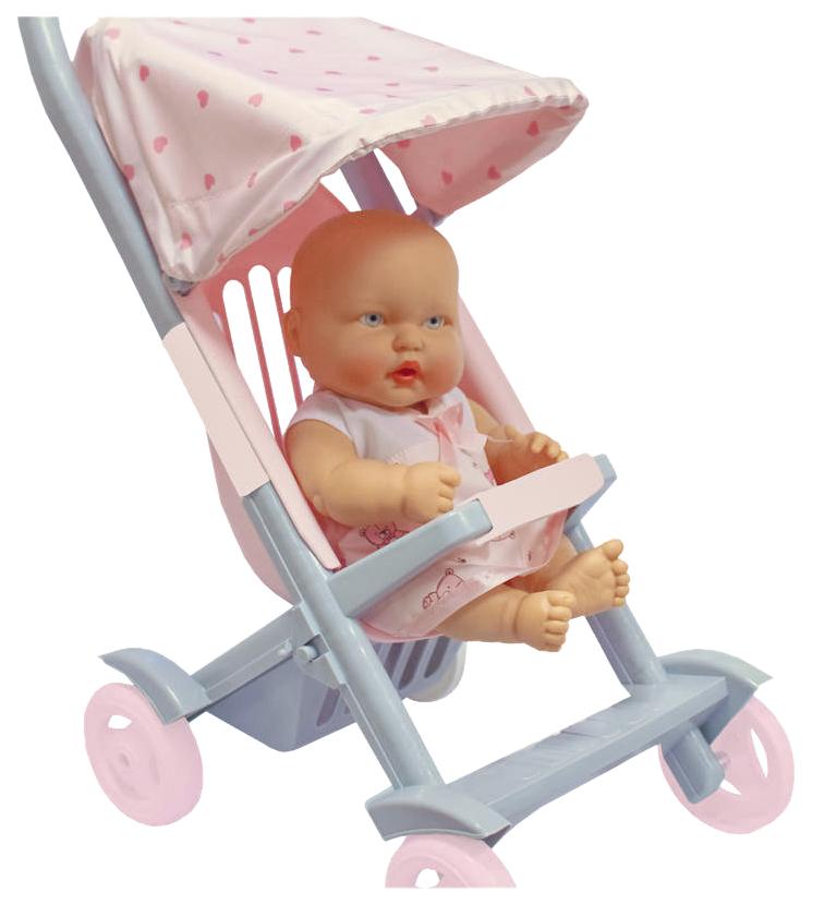 Детская коляска для Пупсов малая Огонек 1497