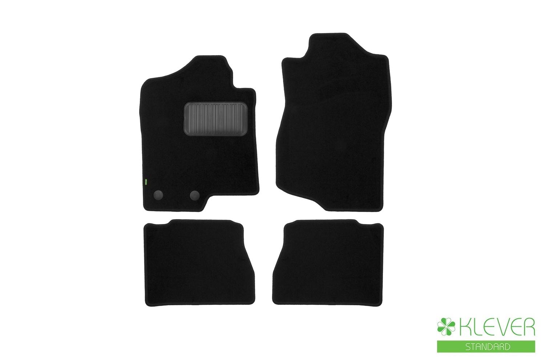 Коврики в салон Klever Standard для CADILLAC Escalade 2007-2014, 4 шт. текстиль