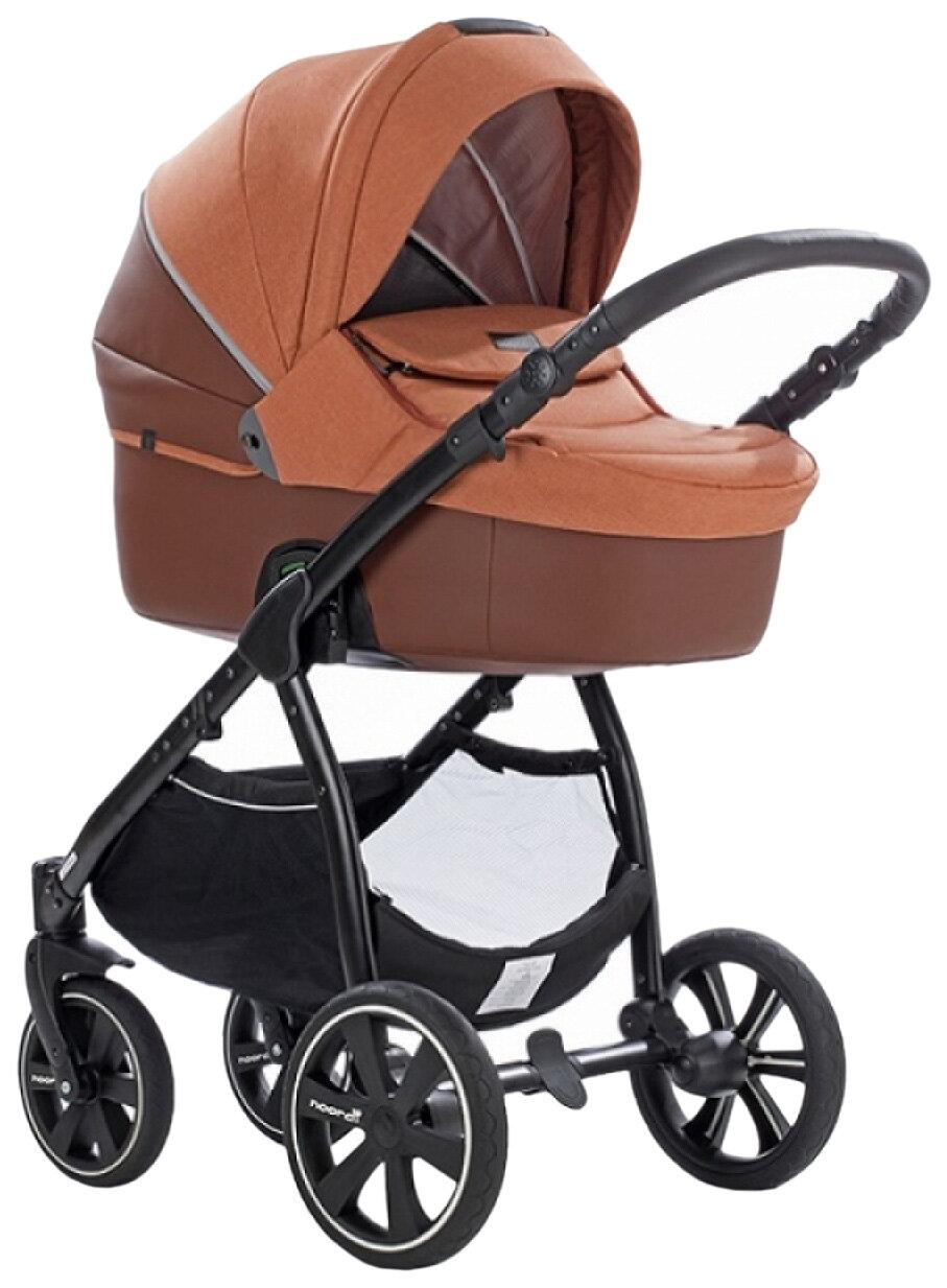 Купить Коляска детская 2 в 1 Noordi Fjordi Melange Sport Leather 662848/SP Оранжевый,
