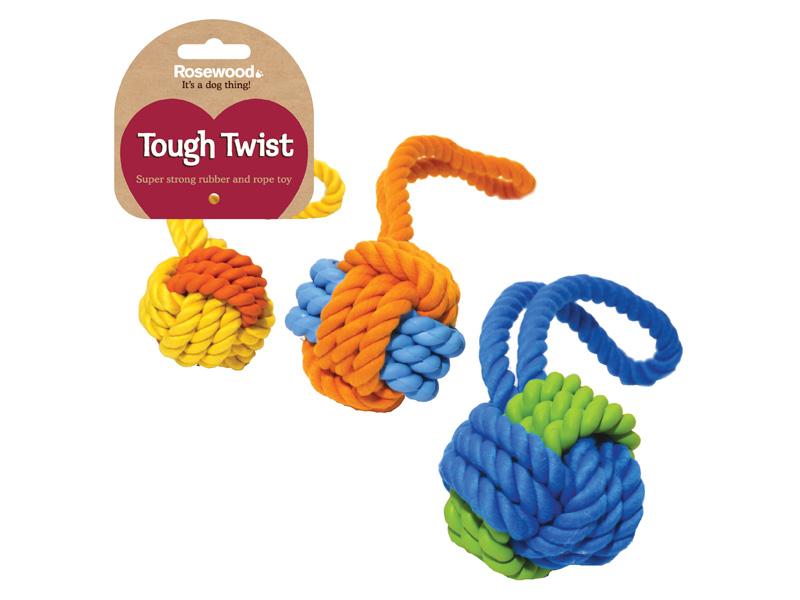 Комбинированная игрушка для собак Rosewood Tough Twist
