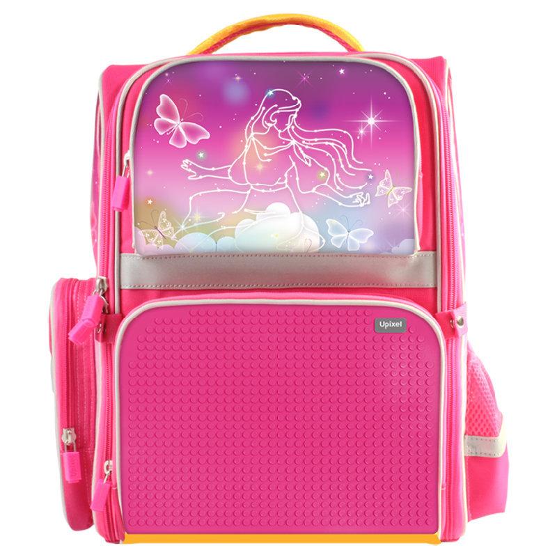 Купить Детский рюкзак Upixel Dreamland WY-A037 Фуксия, Школьные рюкзаки для девочек
