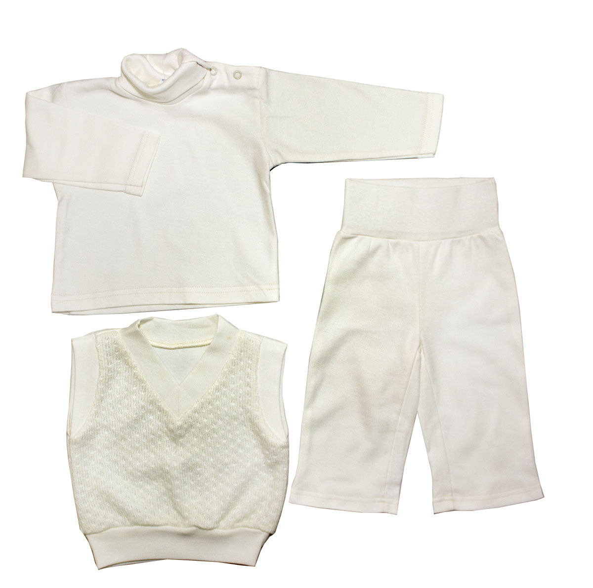 Комплект одежды Осьминожка для мальчика бежевый р.86
