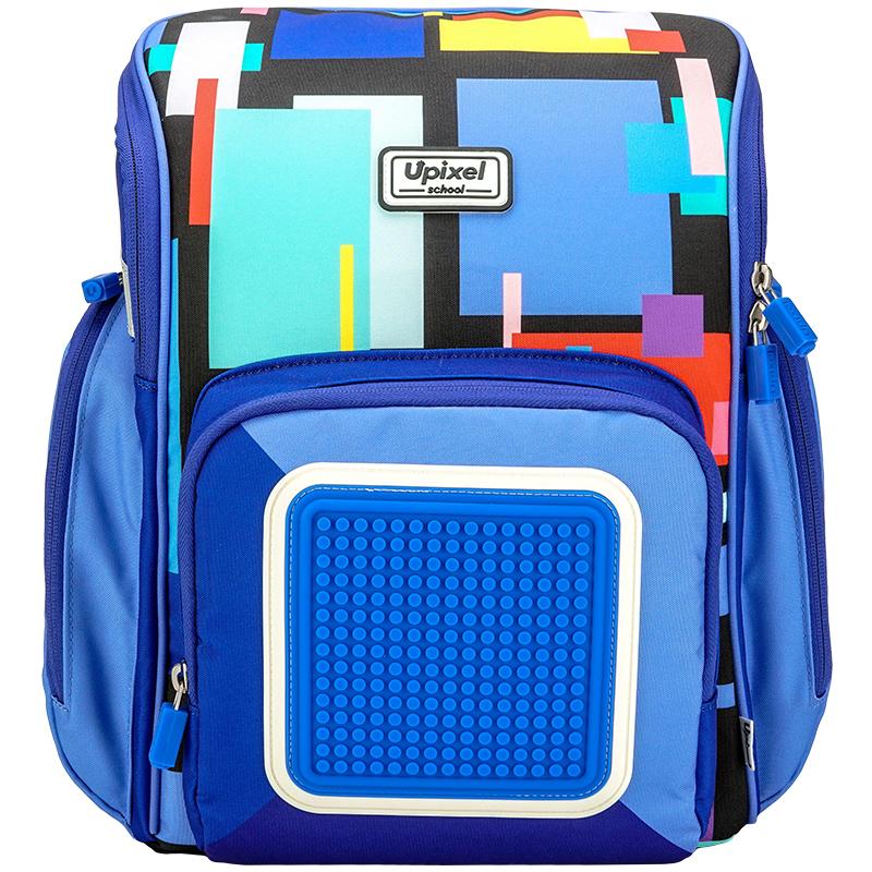 Купить Рюкзак детский Upixel пиксельный Funny Square School Bag WY-U18-7, Школьные рюкзаки для мальчиков