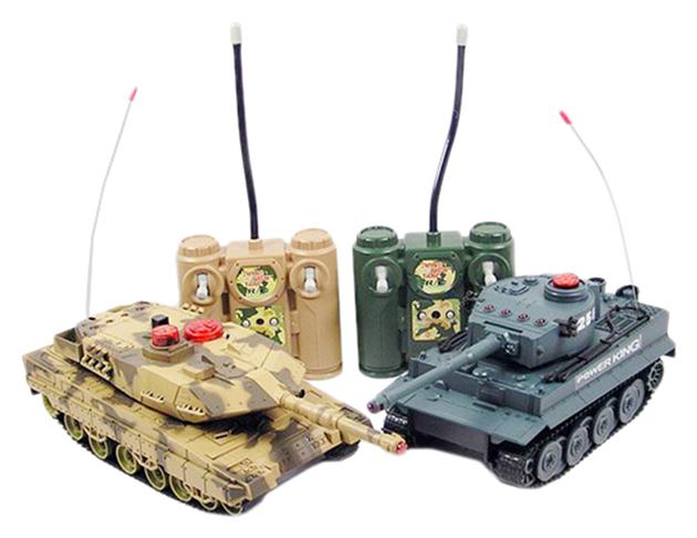 Радиоуправляемый танковый бой Zegan Leopard 2A5