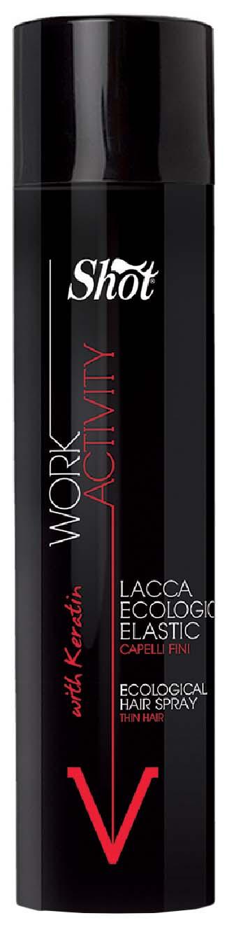 Лак для волос Shot Work Activity with Keratin 400 мл