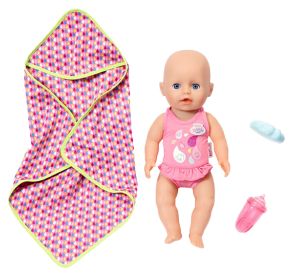 Купить Кукла my little Baby born для игры в воде 32 см Zapf Creation 825-341,