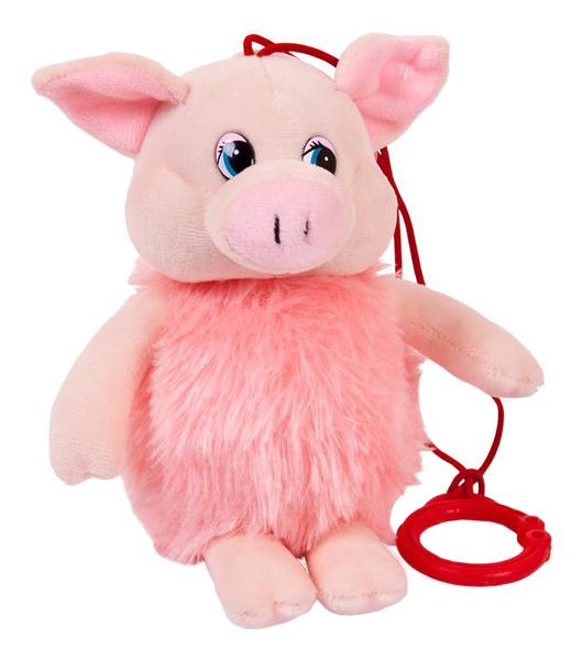 Мягкая игрушка Chuzhou Greenery Свинка озвученная 19758