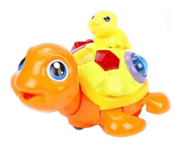 Купить Интерактивное животное Наша Игрушка Черепашка Y4935066 в ассортименте, Наша игрушка, Интерактивные мягкие игрушки