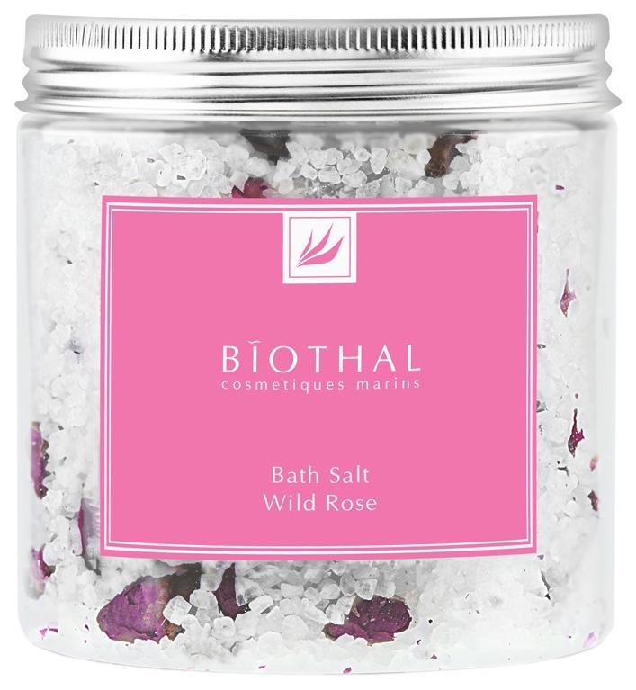 Соль для ванн Biothal Bath Salt Wild Rose 500 мл