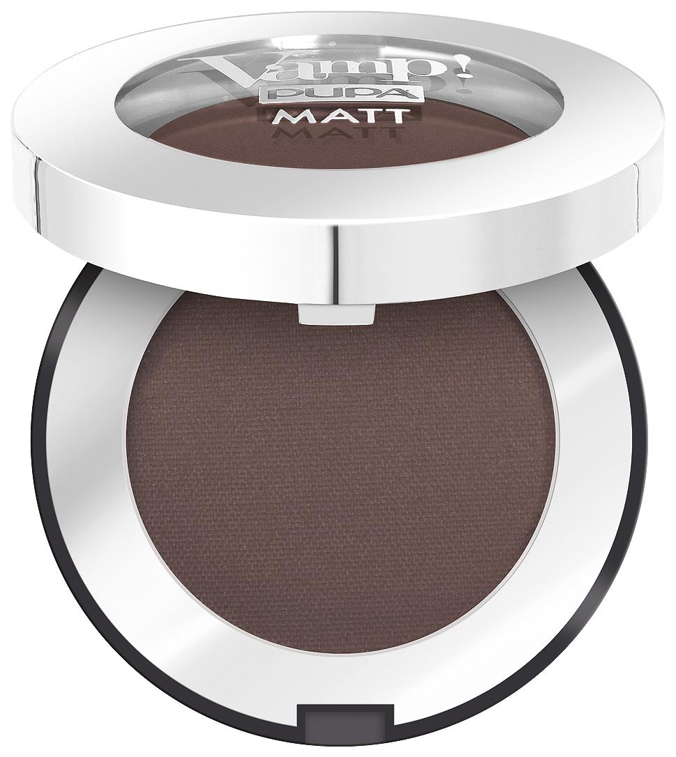 Купить Тени для век Pupa Vamp! Matt Eyeshadow 050 - DARK CHOCOLATE