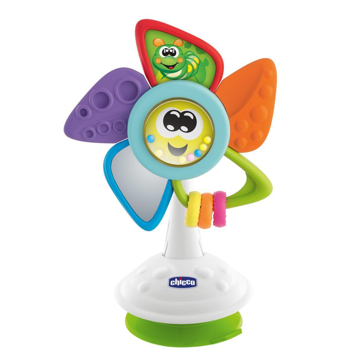 Игрушка развивающая Chicco Will the Pinwheel (на стульчик для кормления) 6м+ фото