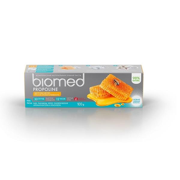 Зубная паста Biomed прополис 100 г.
