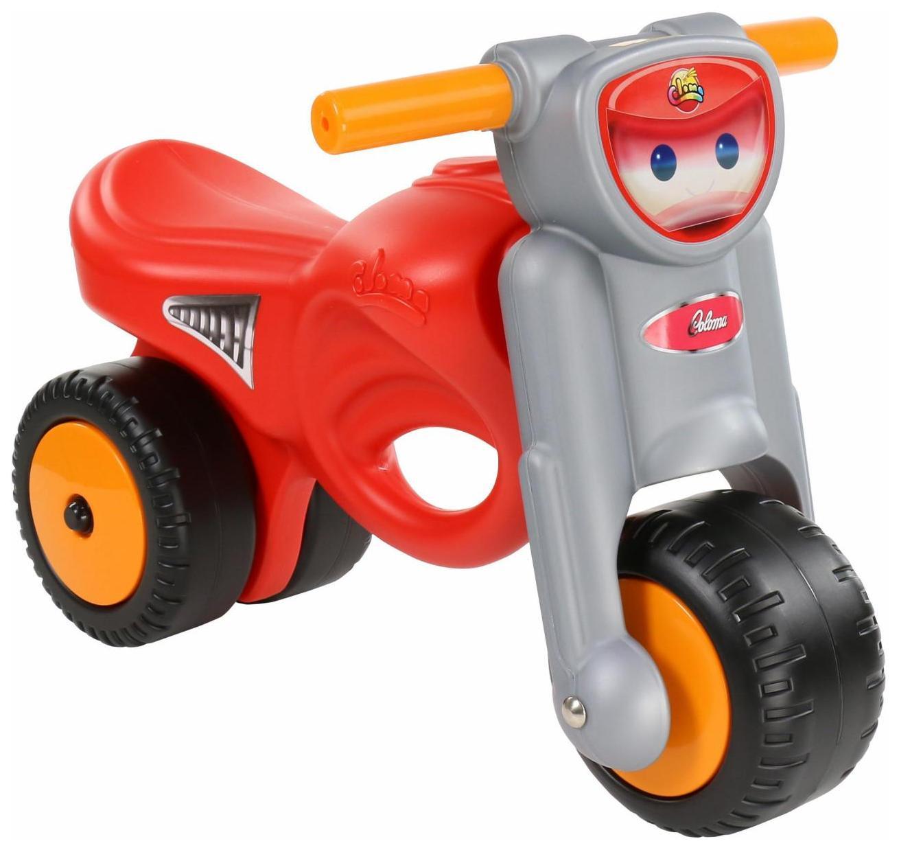 Каталка-мотоцикл Полесье Мини-мото Красный