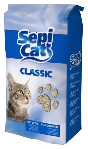 Впитывающий наполнитель для кошек SEPICAT NATURAL цеолитовый,