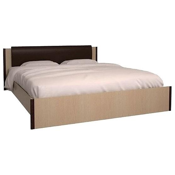 Кровать двуспальная Новелла СТЛ.105.02 01 дуб кремона/венге