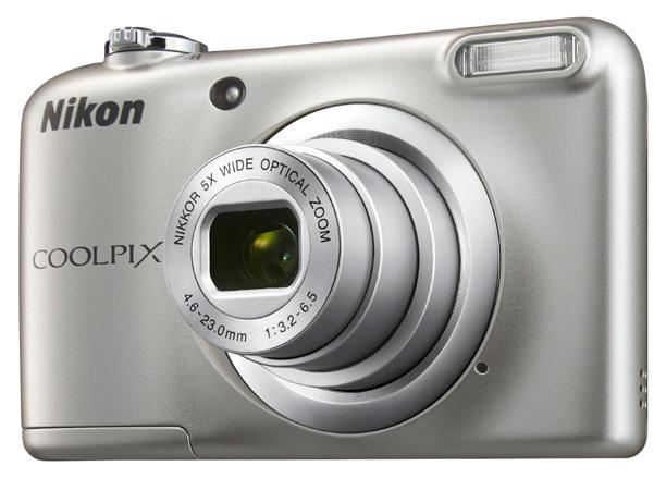 Фотоаппарат цифровой компактный Nikon Coolpix A10 Silver