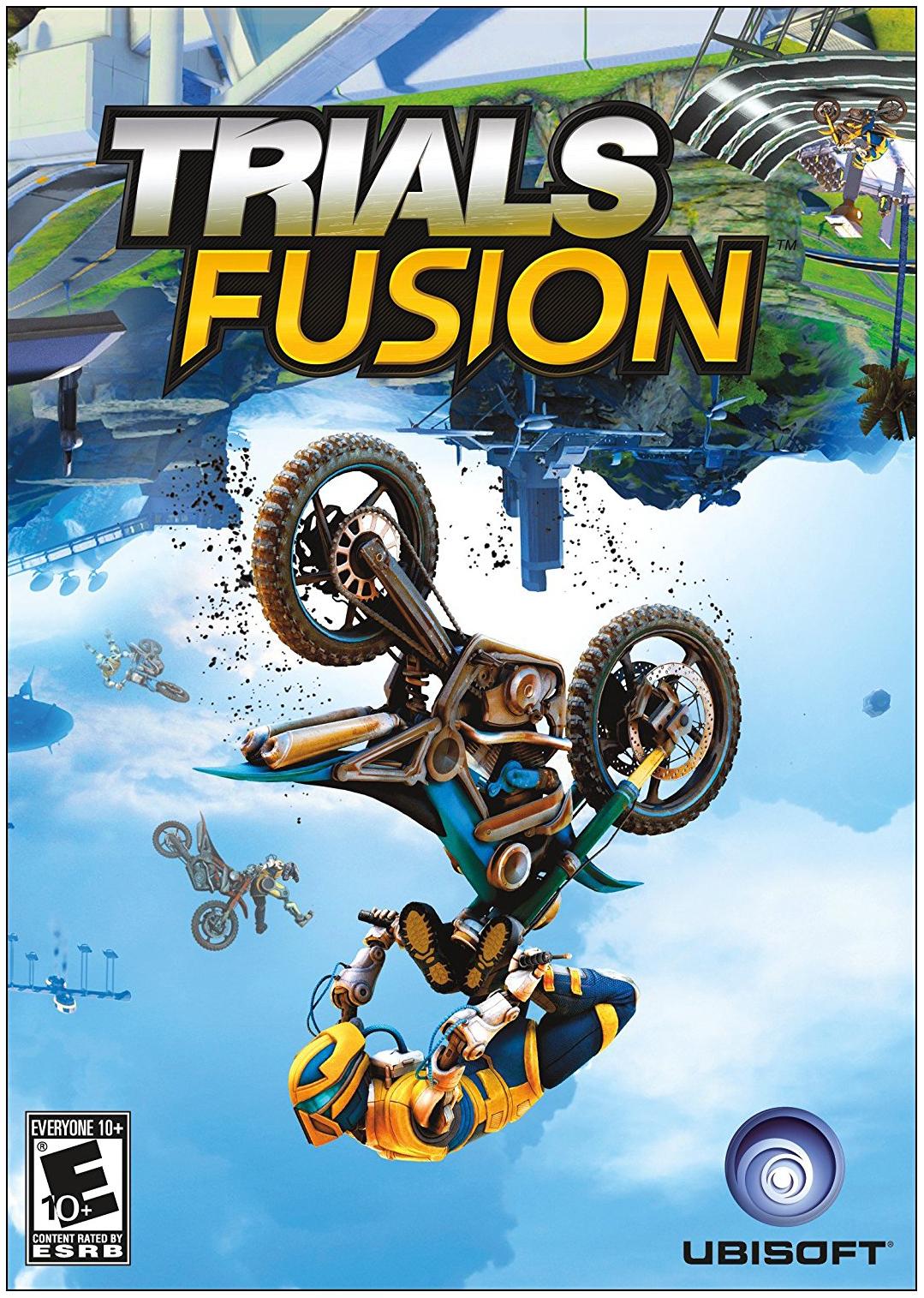 Игра Trials Fusion для Xbox One