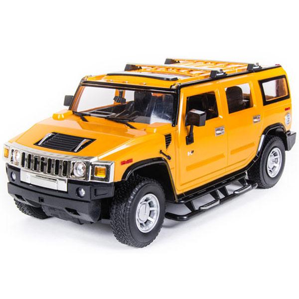 Радиоуправляемая машина Pilotage Автомодель Hummer H2 желтый 1/14 (RC16667)
