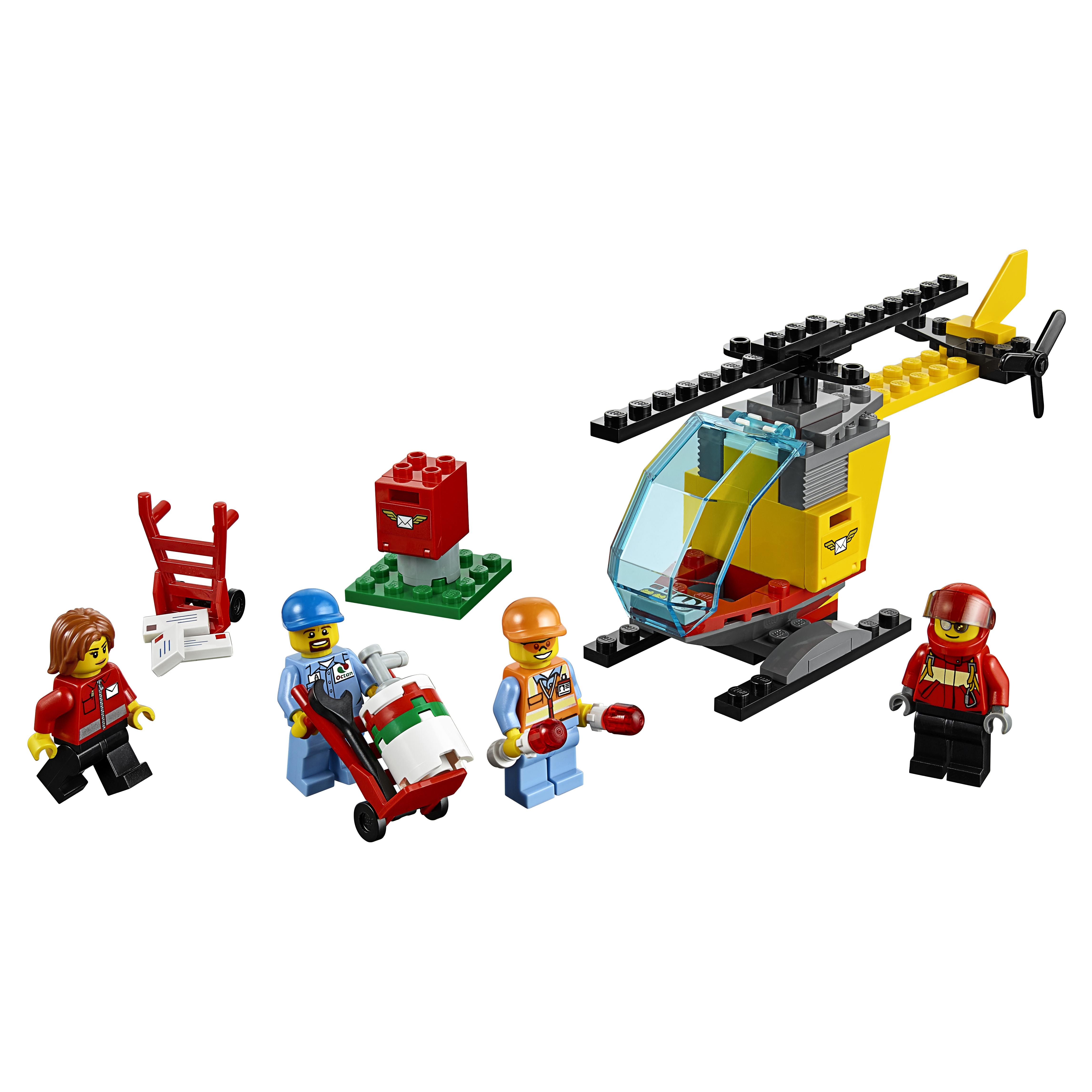 Купить Конструктор lego city airport набор для начинающих аэропорт 60100, Конструктор LEGO City Airport Набор для начинающих Аэропорт (60100),