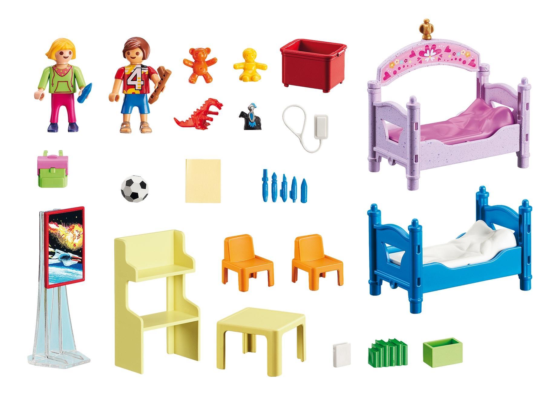 Кукольный дом: детская комната для 2-х детей