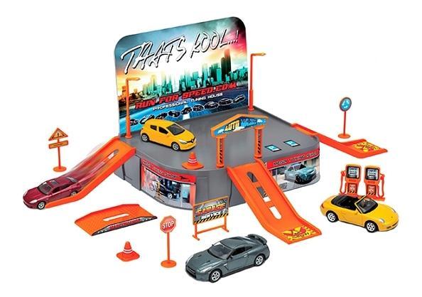 Игровой набор Welly Гараж (включает 1 машину)