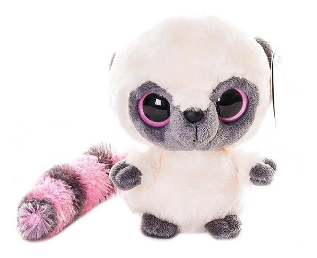 Мягкая игрушка Aurora Юху и его друзья 12-110 Юху розовый, 12 см