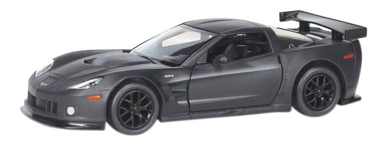 Купить Машина металлическая Uni-Fortune 1:32 Chevrolet Corvette C6.Rинерционная серый матовый,