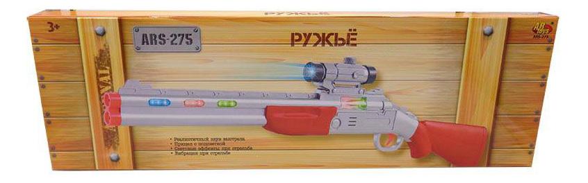 Купить Ружье с прицелом, электромеханический со световыми и звуковыми эффектами 58x4x18, 5 см, ABtoys, Стрелковое игрушечное оружие