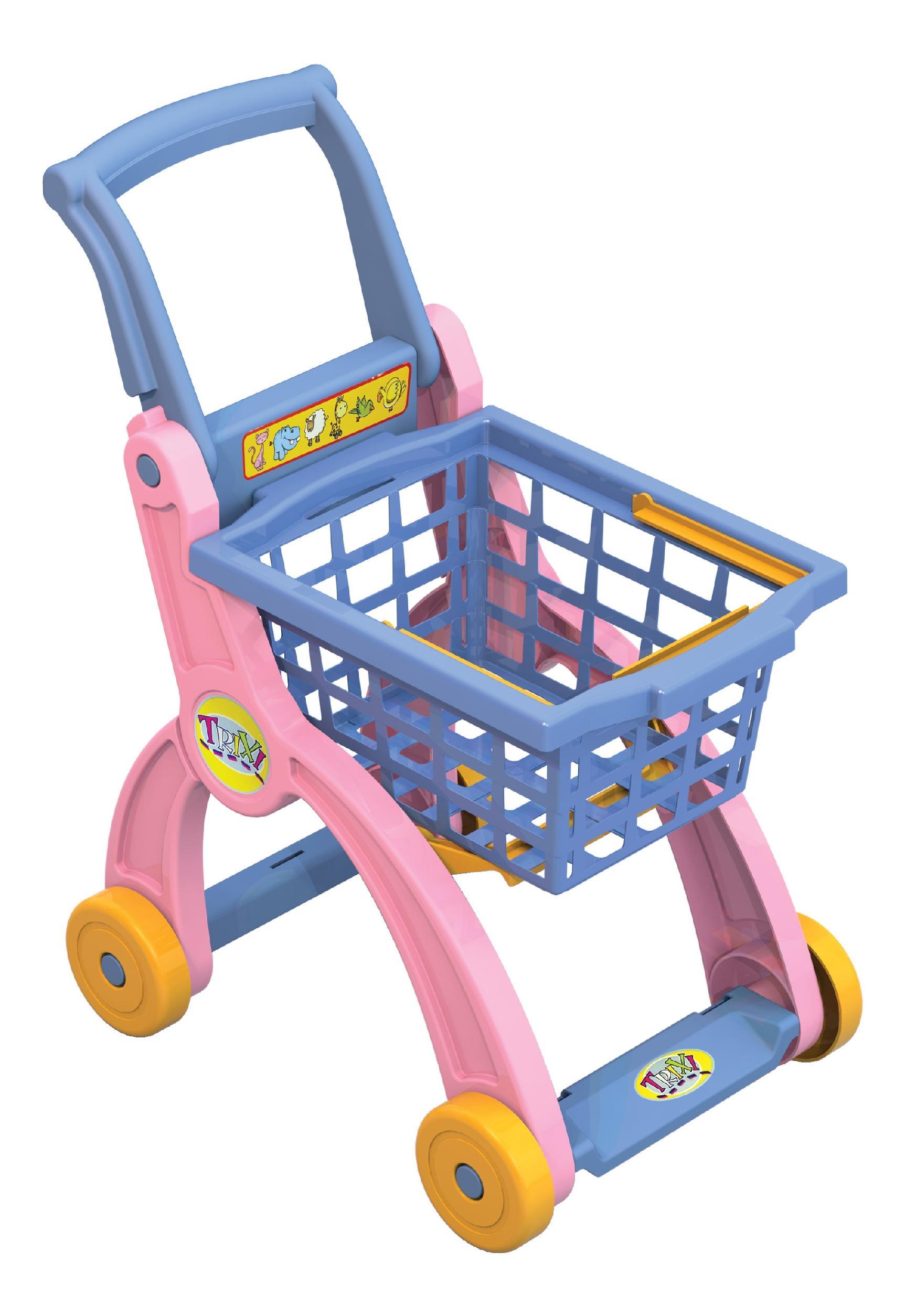 Купить 431103, Тележка для магазина, НОРДПЛАСТ, Детские тележки для супермаркета