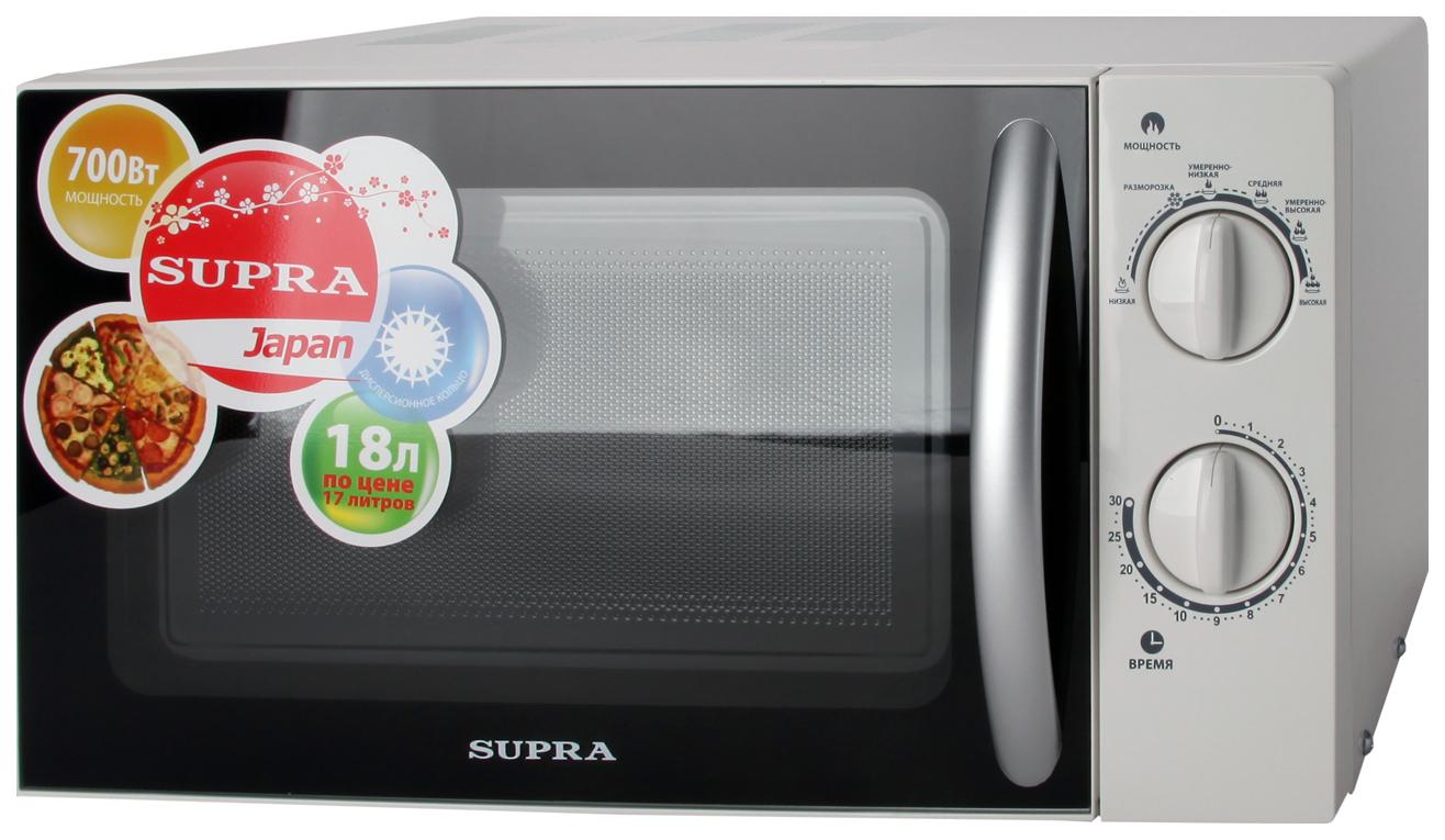 Микроволновая печь соло Supra MWS 1804MW white