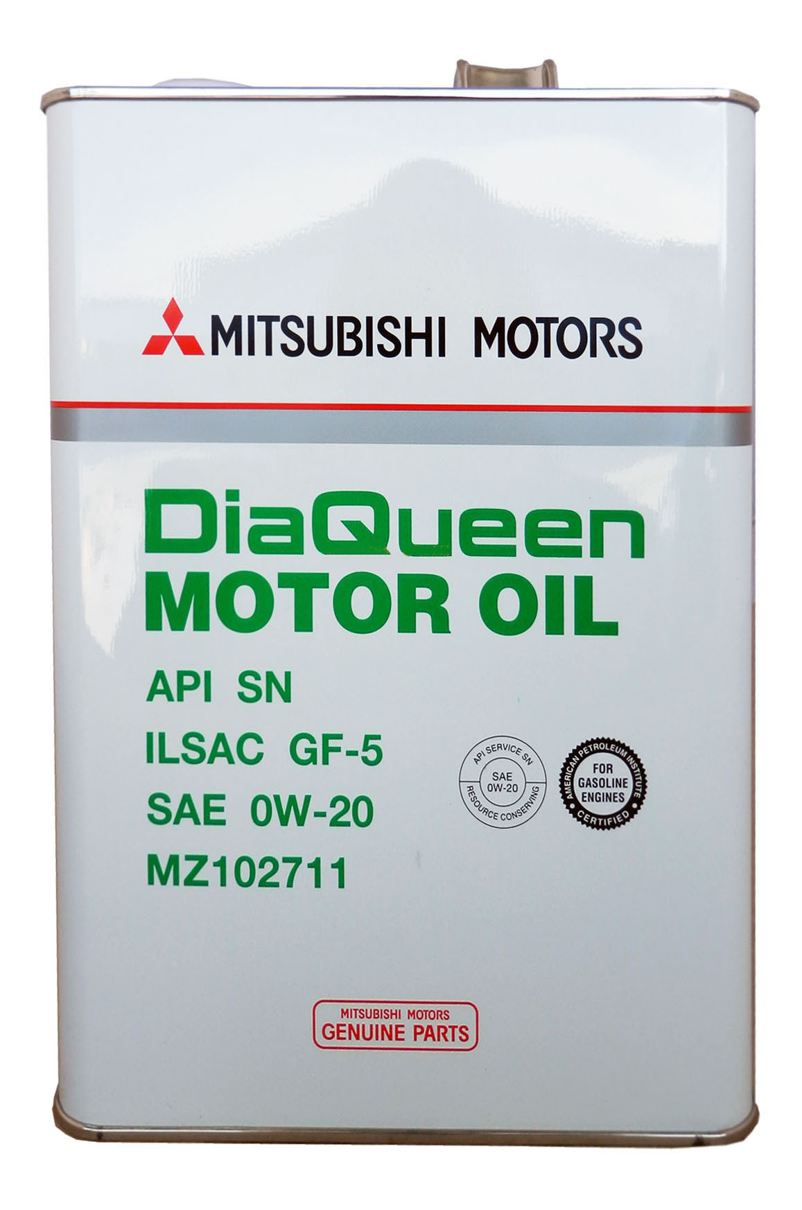 Моторное масло Mitsubishi Dia Queen Motor