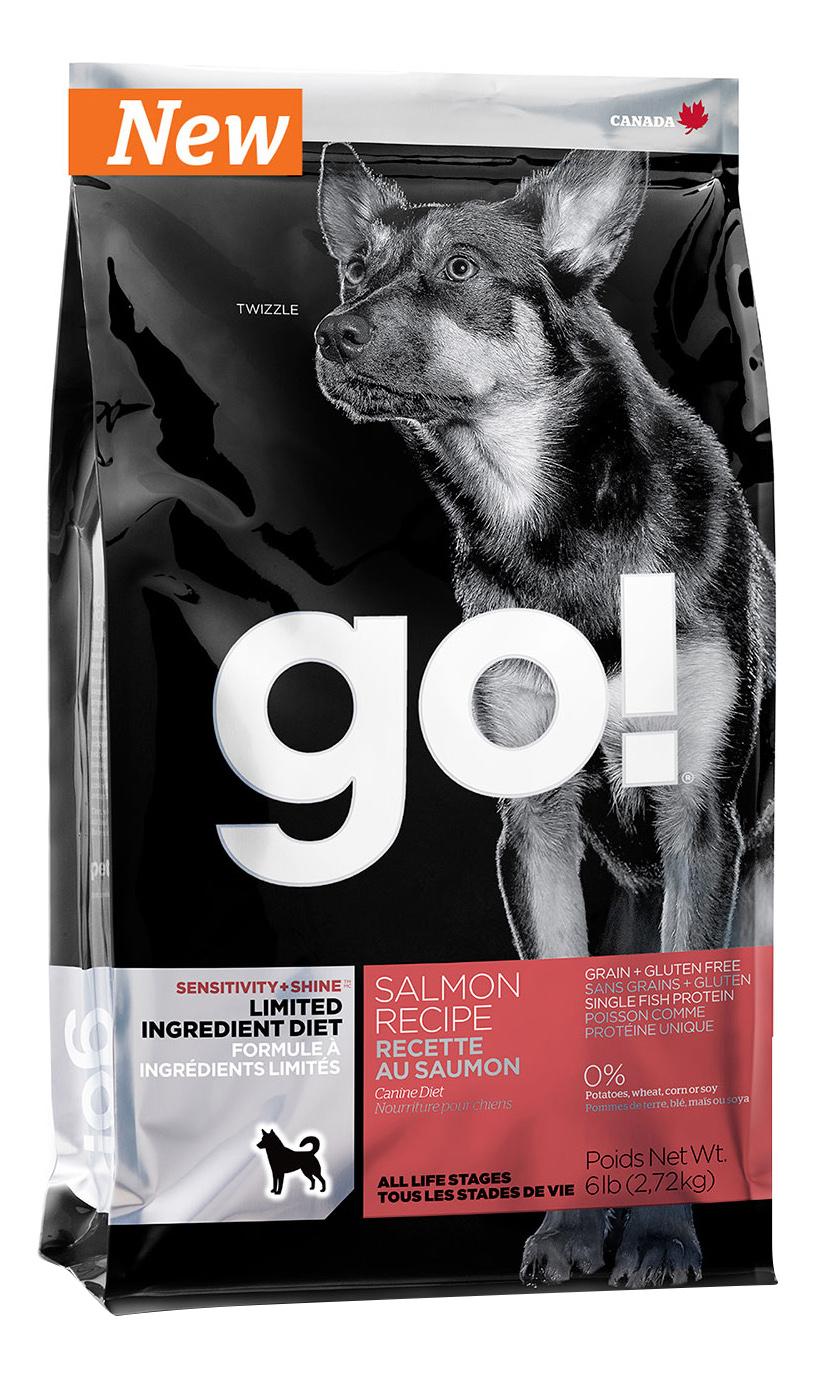 GO  SENSITIVITY + SHINE GRAIN FREE SALMON DOG RECIPE