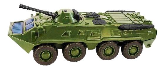 Купить БТР-80 зеленый, Машина военная Play Smart БТР-80 зеленый, PLAYSMART, Военный транспорт