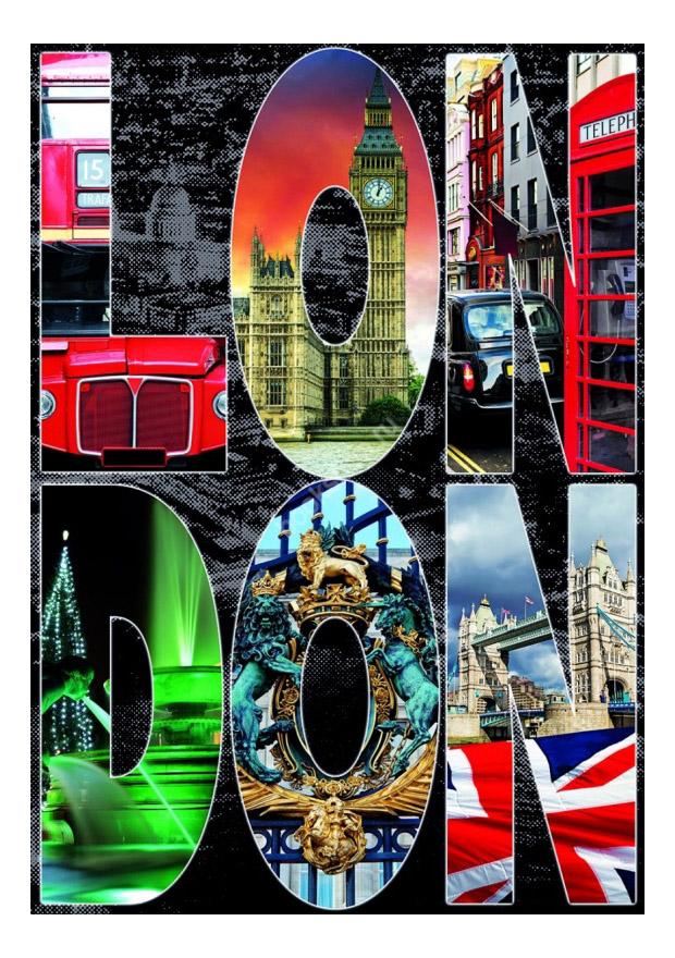 Пазл Educa Лондон, коллаж 1000 деталей