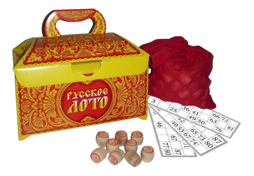 Семейная настольная игра Дрофа Русское лото 1969