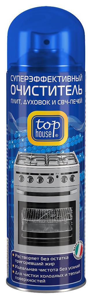 Чистящее средство для плит Top House очиститель плит духовок и свч-печей 300 мл