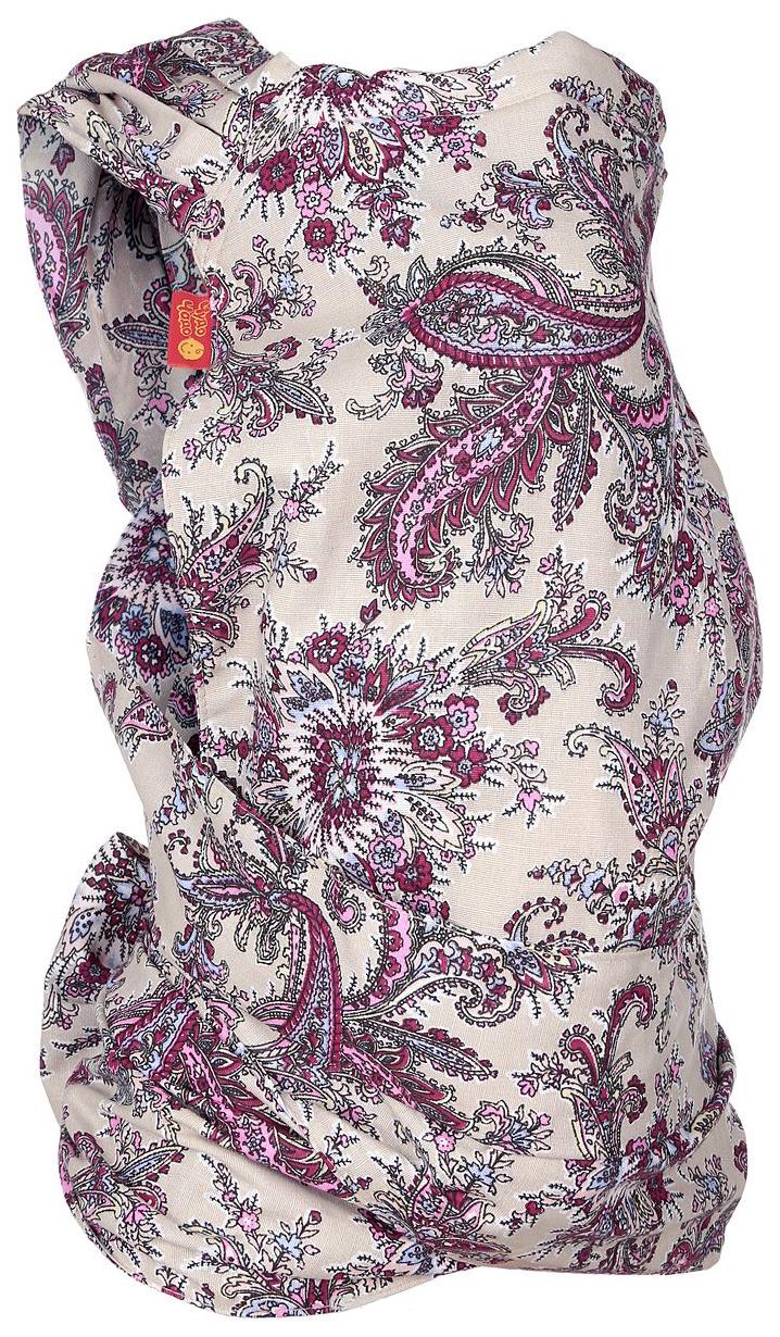 Купить Слинг Чудо-Чадо Грация Пейсли лиловый МСЛ03-001, Слинг Чудо-Чадо Грация Пейсли лиловый МСЛ03-001, Слинги для новорожденного