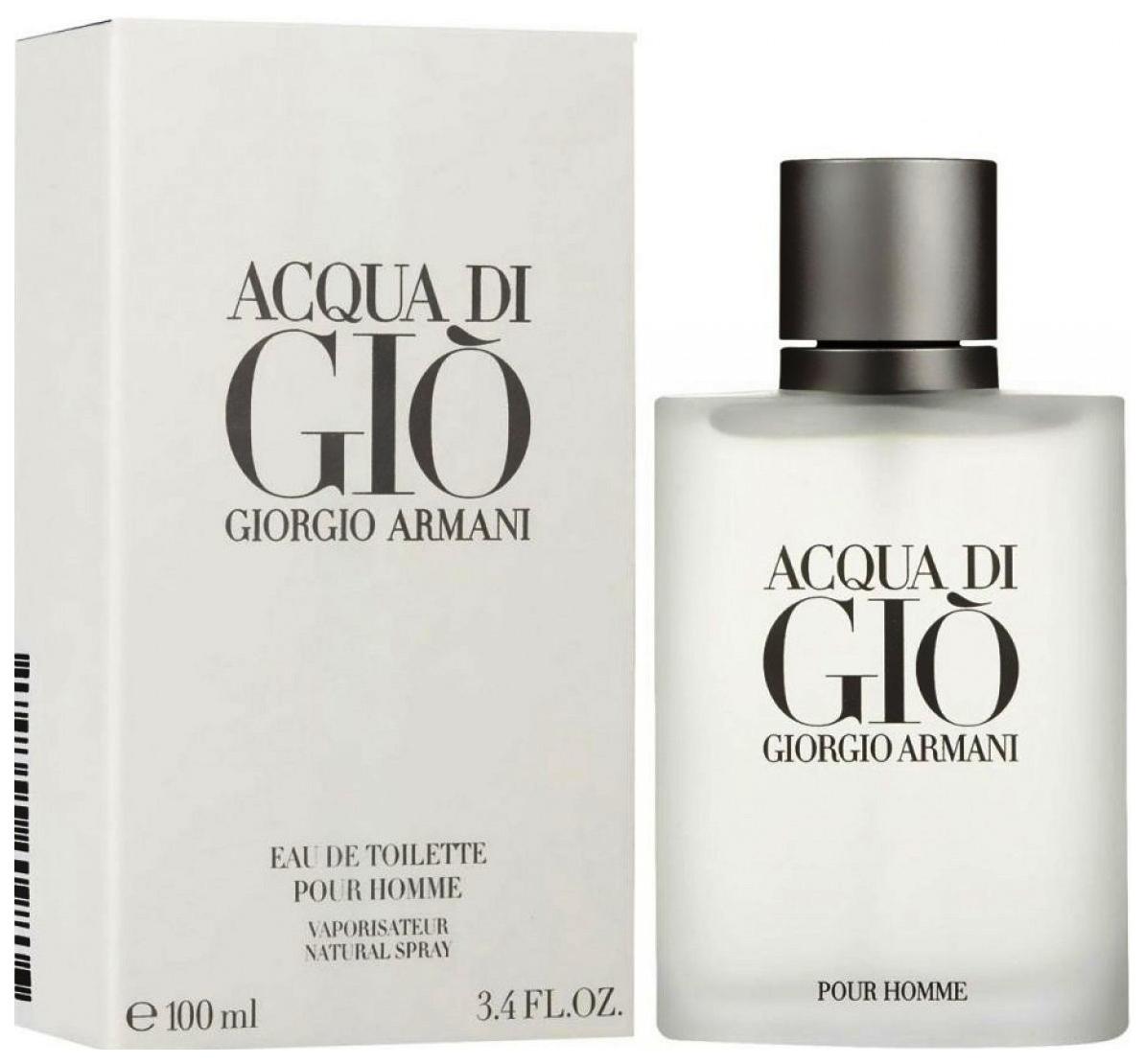 Туалетная вода GIORGIO ARMANI Acqua Di Gio Pour Homme 30 мл фото