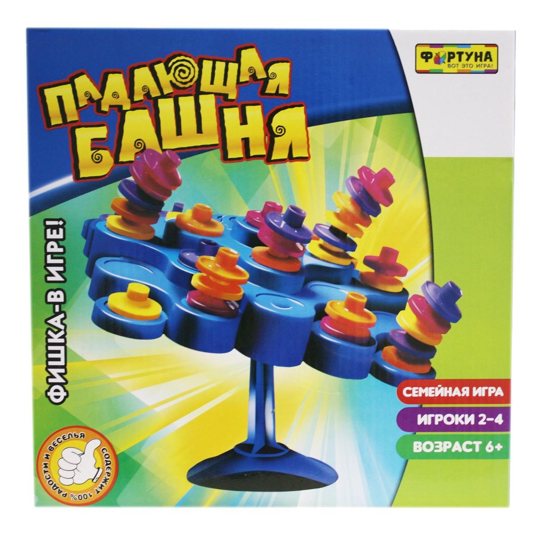 Купить Семейная настольная игра Фортуна Падающая башня, Семейные настольные игры