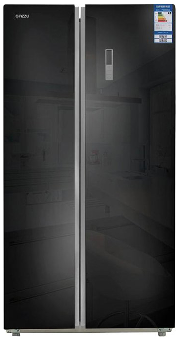 Холодильник Ginzzu NFK 580 Black