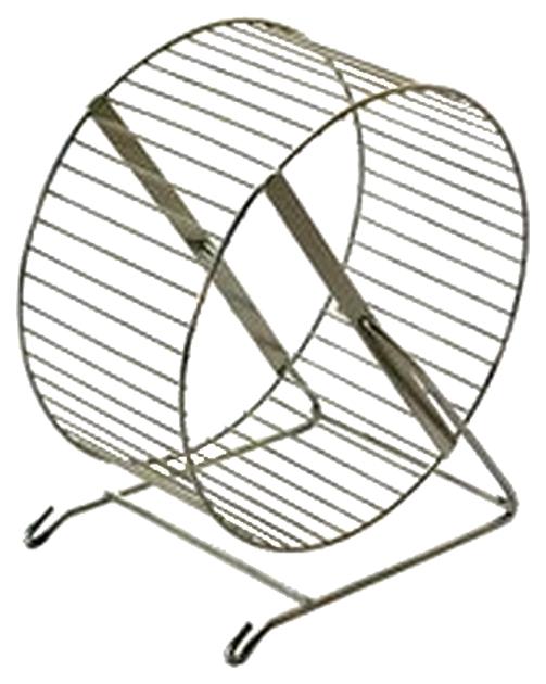 Беговое колесо для грызунов Дарэлл металл, 30 см